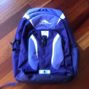 High Sierra NWOT purple backpack 🎒